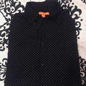 Vintage    Joe Fresh Polka Dot button down shirt